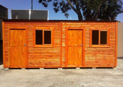 3x6m Wendy 2 doors
